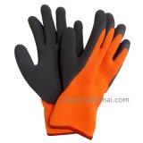 La gomma spugna acrilica dei guanti ha ricoperto il guanto termico del lavoro di inverno della presa