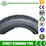 Motorrad-schlauchloser Gummireifen des China-Qualitäts-Roller-Rückseiten-Reifen-3.00-10