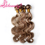 Tecelagem brasileira natural do cabelo do cabelo 8p613# Ombre do inclinação da qualidade superior