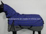 Couvertures de cheval de l'hiver de sellerie d'alerte de polyester de mode