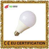 Bulbo AC100-240V 3000k/4000k/6500k E14/E27/B22 do diodo emissor de luz