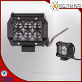 4D Lens 4 Inch 18W LED Light Bar Headlight para Jeep, Offroad, Track
