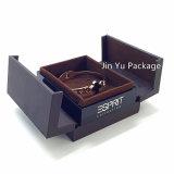 Коробка индикации ювелирных изделий подарка ювелирных изделий тавра Jy-Jb177 пластичная кожаный