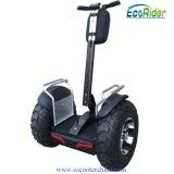 Char électrique de équilibrage de scooter de l'individu E8 avec le scooter électrique de coup-de-pied de moteur sans frottoir