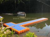 Pontón del plástico del dique flotante