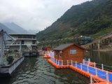 Het hete Huis van het Meer van het Huis van de container van de Verkoop Drijvende