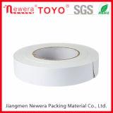 La cinta adhesiva lateral doble del tejido con el pegamento caliente del derretimiento basó