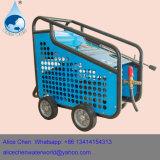 Kaltes Wasser-Reinigungsmittel-Maschine mit Pinsel-Bläser-Maschine