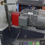 Ligne en plastique d'extrusion de profil de WPC/PVC, profil de l'envergure WPC de longue vie faisant la machine
