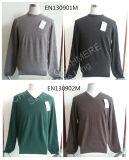 Maglione degli uomini del cachemire del commercio all'ingrosso di disegno del maglione di modo