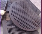 Plaques de déflecteur de perçage perforé CNC Plaques de support Baffles pour Pressue Vessels / Heat Exchanger / Boiler