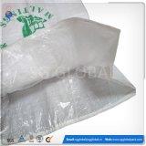 Saco de farinha de PP 50kg impressa branco com forro PE