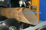 Grand coupeur de commande numérique par ordinateur de pipe de diamètre complètement automatique de 2000mm avec le rouleau de pouvoir