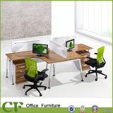 X стол рабочей станции офиса формы модульный