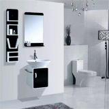 Gabinete de banheiro fixado na parede por atacado do PVC com espelho