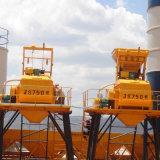Mezclador concreto horizontal doble para la venta (Js750)