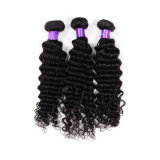 Virgin Deep brasiliano Wave Human Hair per Braiding