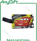 Zacht pvc Luggage Tag met Customized Color en Logo (LAG- plt-09)