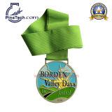 медаль 10-летней поставкы фабрики изготовленный на заказ, Paypal, отсутствие MOQ, свободно конструкции произведения искысства