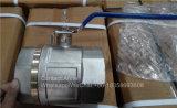 1/2-4 Nickel überzogen, Messingkugel-Regelventil (YD-1023) plombierend