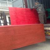 El rojo de la alta calidad/la película de Brown hizo frente a la madera contrachapada para el material de construcción
