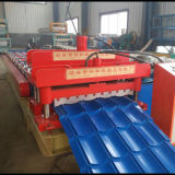 Full Auto Trapezoidal Profile e Corrugated Tile Roll Forming Machine per Roofing Sheet