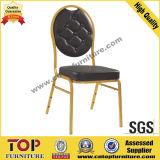 Шикарный алюминиевый стул банкета мебели банкета круглой задней части