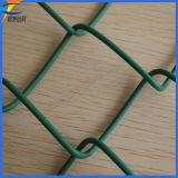 Engranzamento de fio revestido da ligação Chain do PVC da instalação fácil