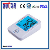 Moniteur de pression sanguine de bras de Digitals de ménage (point d'ébullition 80K) avec contre éclairé