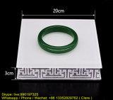 Plateau acrylique d'étalage de produit d'exposition de bijou avec la taille personnalisée