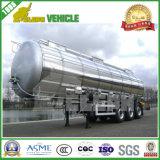 Трейлер топливозаправщика бака топлива алюминиевого сплава автомобиля неиндивидуального пользования Semi