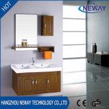Qualitäts-Wand-hölzerner Badezimmer-Schrank mit seitlichem Schrank