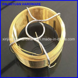 0.8mm/1.15mm Donkergroen pvc Coated Coil Wire voor Garden Use