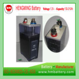 Batterie Ni-CD approuvée de batterie rechargeable de la batterie cadmium-nickel IEC60623