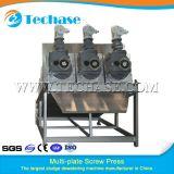 Машина Slduge оборудования давления винта Multi-Плиты Techase Dewatering