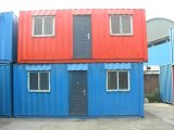 鉄骨フレームの建物の容器の家