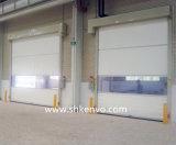 Porte Rapide Rapide à Grande Vitesse D'obturateur de Roulement de Tissu de PVC