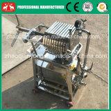 Máquina inoxidable 2016 del filtro de petróleo de la placa del precio de fábrica mini