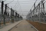 Struttura d'acciaio della struttura della sottostazione per il trasporto di energia