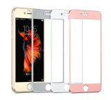 Großhandelssuperschild-Titanlegierungs-Rand-ausgeglichenes Glas-Bildschirm-Schoner für iPhone 7/6 von der Fabrik in Shenzhen