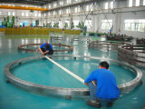 専門の供給によって電流を通されるフランジ