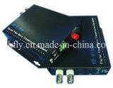 Alta calidad 2 CH 1080P Resolución Ahd y Cvi y TVI Transmisión video de fibra