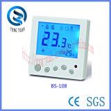 水暖房(BS-108-F)の床下から来る暖房のための使用法のデジタル容易なサーモスタット