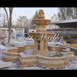 Fontana dorata del granito per la mobilia Mf-1284 del giardino