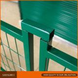 Garantie provisoire de PVC clôturant des panneaux