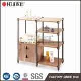 Хранения кухни патента DIY мебель миниого Стал-Деревянная с верхней частью MDF
