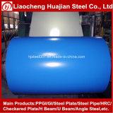 Bobinas de acero cubiertas color PPGI para la fuente del edificio del material para techos cualquie color de Ral