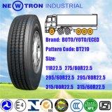 Boto Truck Tyre 315/80r22.5, Lungo-trasporta Steer Trailer Tyre