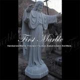 Statue Main-Découpée Jésus Ms-1018 de Metrix Carrare de granit de pierre de marbre de sculpture