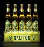 Nueva visualización de acrílico caliente de Glorifier de la botella para la promoción